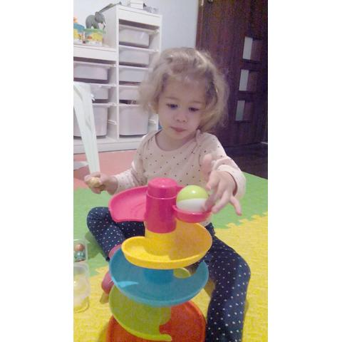 Little Learner Jucarie interactiva – Turnulet cu bilute junior