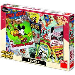 Puzzle - Distractie cu Mickey Mouse (500 piese)