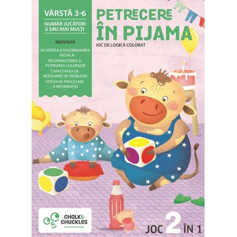 Chalk and Chuckles Joc - Petrecere in pijama