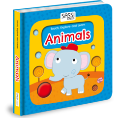 Sassi Carte Touch, Explore and Learn - Animals