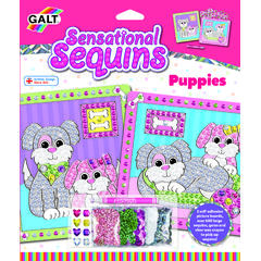 Sensational Sequins: Set 2 tablouri cu catelusi -New edition
