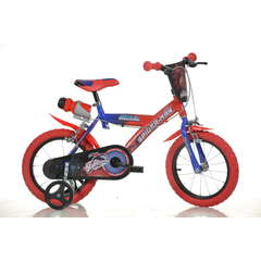 DINO BIKES Bicicleta Spiderman 163G SP