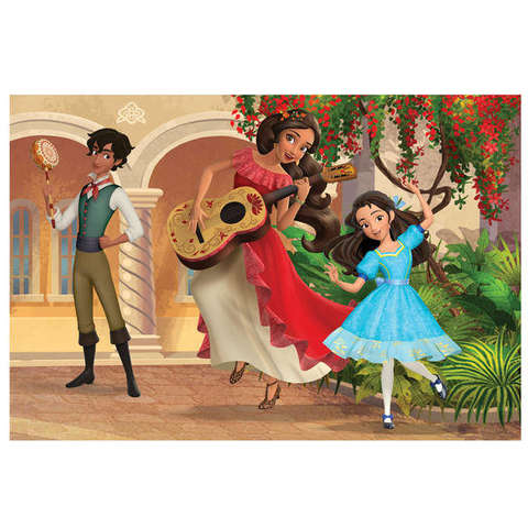 Dino Toys Puzzle 2 in 1 - Elena din Avalor (66 piese)