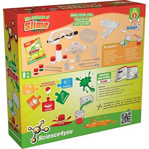 Science4you Set experimente - Substante lipicioase
