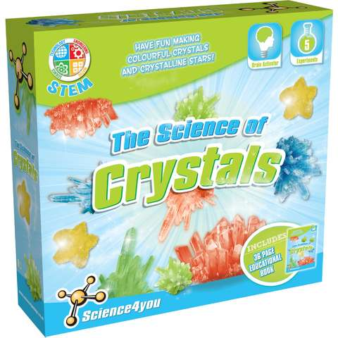 Science4you Set experimente - Stiinta cristalelor