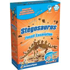Science4you Set paleontologie - Stegosaurus MULTI