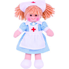 BIGJIGS Toys Papusa - Nurse Nancy