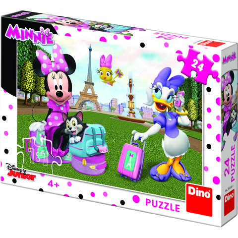 Dino Puzzle - Minnie si Daisy (24 piese)