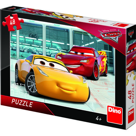 Dino Toys Puzzle - Cars 3 (48 piese)