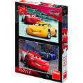 Dino Toys Puzzle 2 in 1 - Cars 3: Cursa cea mare (77 piese)