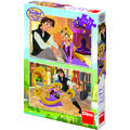 Dino Toys Puzzle 2 in 1 - Tangled (77 piese)