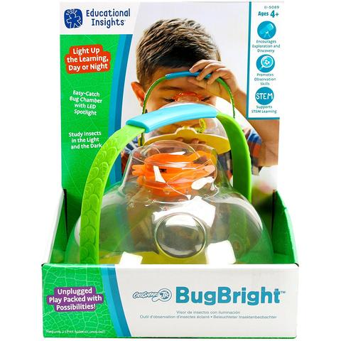 Educational Insights Geosafari - Observator insecte cu LED
