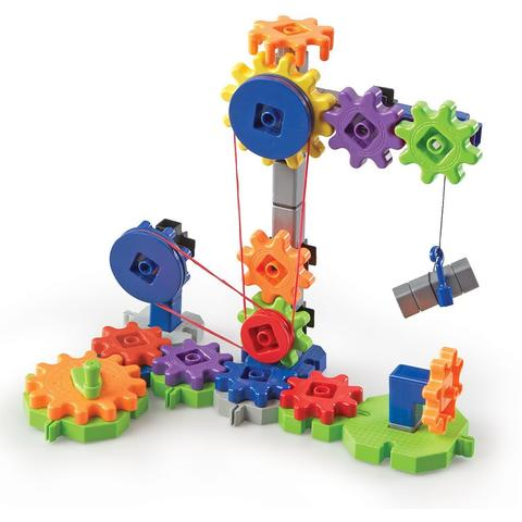Learning Resources Set de constructie Gears! - Utilaje in miscare
