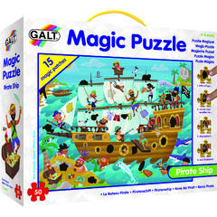 Magic Puzzle - Corabia piratilor (50 piese)