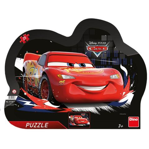 Dino Toys Puzzle cu rama - Cars (25 piese)