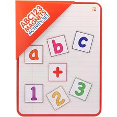 Set magnetic cu activitati - ABC/123