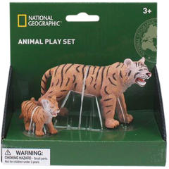 National Geographic Set 2 figurine - Tigrul si puiul