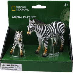 National Geographic Set 2 figurine - Zebra