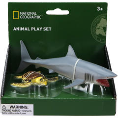 National Geographic Set 2 figurine - Rechin si Broasca testoasa
