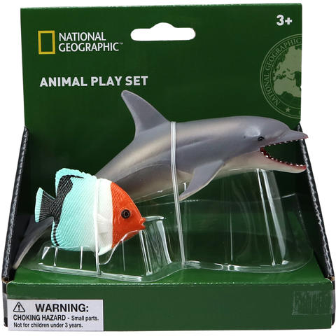 National Geographic Set 2 figurine - Delfin si Peste
