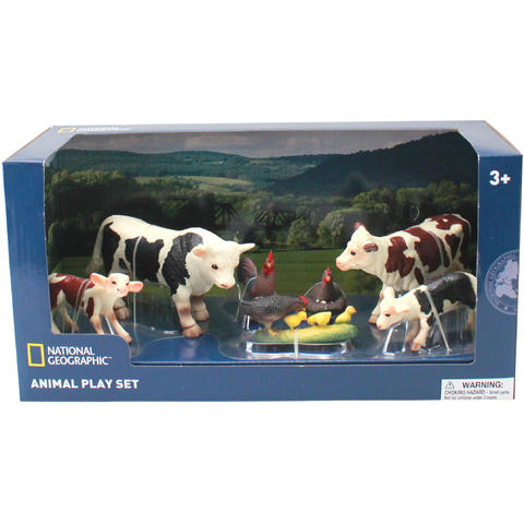 National Geographic Set 7 figurine - Animalute de la ferma