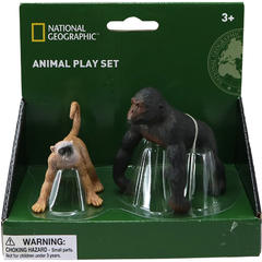National Geographic Set 2 figurine - Gorila si Maimuta