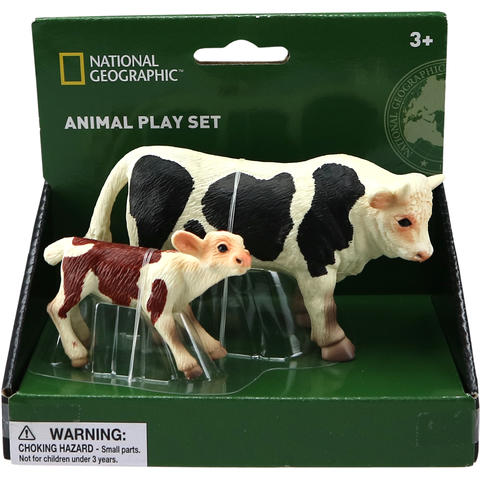 National Geographic Set 2 figurine - Taur si vitel