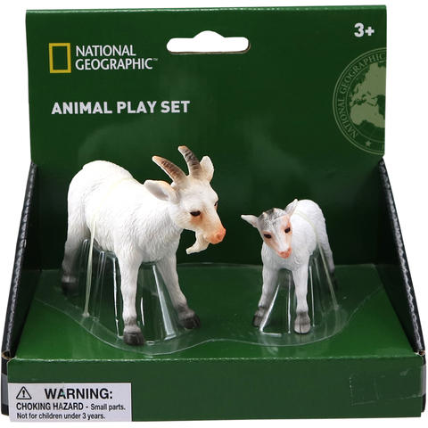 National Geographic Set 2 figurine - Tap si ied