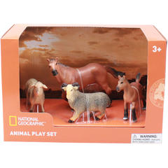 National Geographic Set 4 figurine - Animalute de la ferma