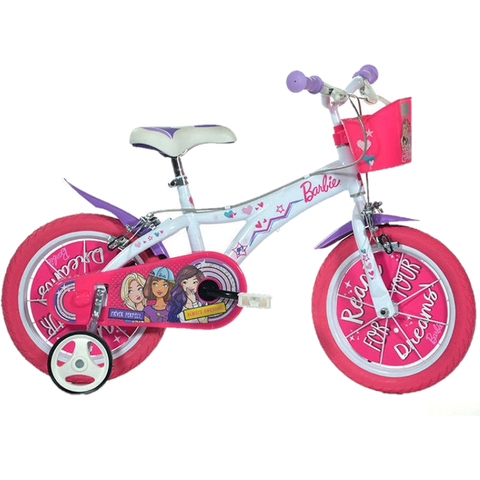 "DINO BIKES Bicicleta copii 14"" - Barbie Dreams"