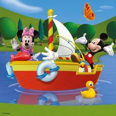 Puzzle Clubul Mickey Mouse 3x49 piese Ravensburger