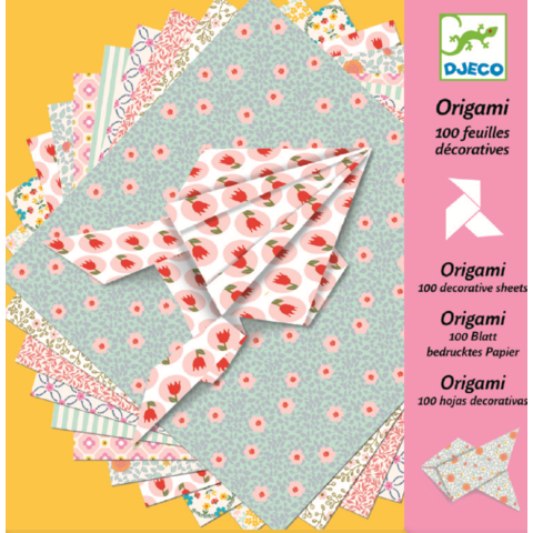 Djeco Hartie origami - coli decorative