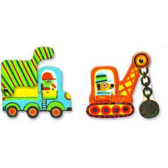 Puzzle duo mobil  vehicule