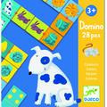 Djeco Domino animale si culori