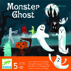 Joc de memorie si strategie Monster Ghost