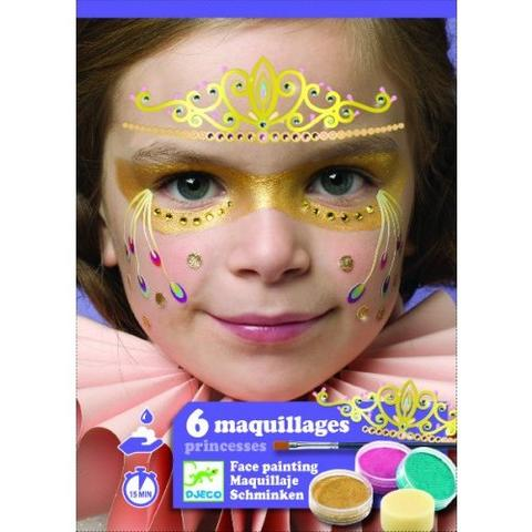 Set make-up, culori non alergice Djeco, printese