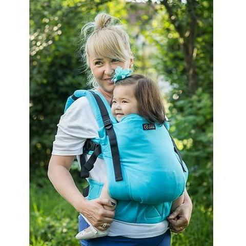 Isara Marsupiu Toddler Wrap Conversion Organic Turquoise