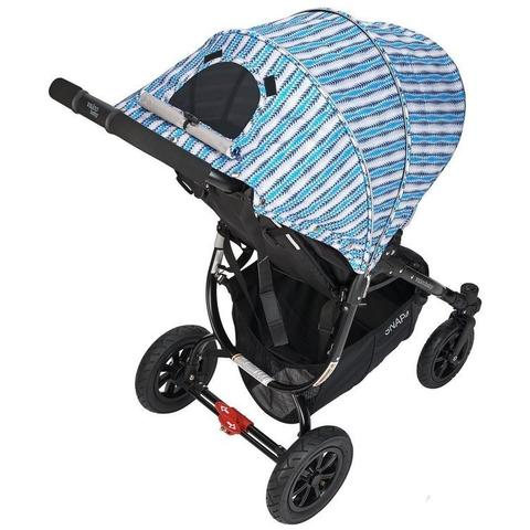 Valco Baby Carucior sport cu roti gonflabile SNAP 4 CZ Edition Blue Stripes