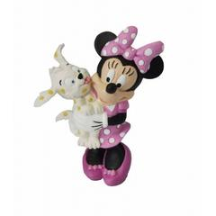 Figurina Minnie cu catelus Disney Bullyland