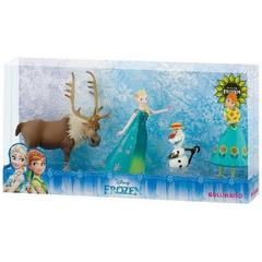 Set Frozen Fever Deluxe 4 figurine