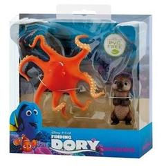 Set figurine Finding Dory Otter si Hank