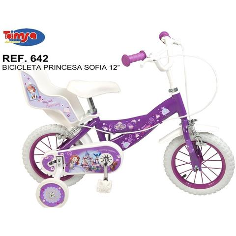 "Toimsa Bicicleta 12"" Sofia the First"