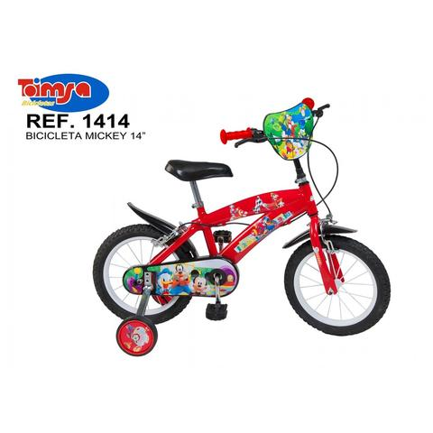 "Toimsa Bicicleta 14"" Mickey Mouse Club House"