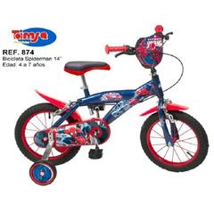Toimsa Bicicleta 14'' Spiderman