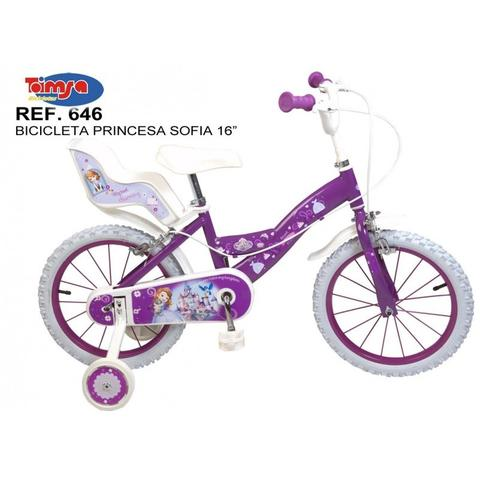 "Toimsa Bicicleta 16"" Sofia the First"