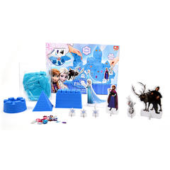 Set nisip kinetic Castelul Frozen