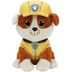 Plus licenta Paw Patrol, RUBBLE (15 cm) - Ty