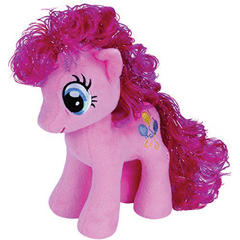 Plus licenta My Little Pony, PINKIE PIE (18 cm) - Ty