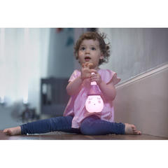 Lampa multifunctionala cu melodii 'Tweetsy Light Girl'