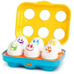 Bright Starts Jucarie Put n Shake Eggs Giggling Gourmet